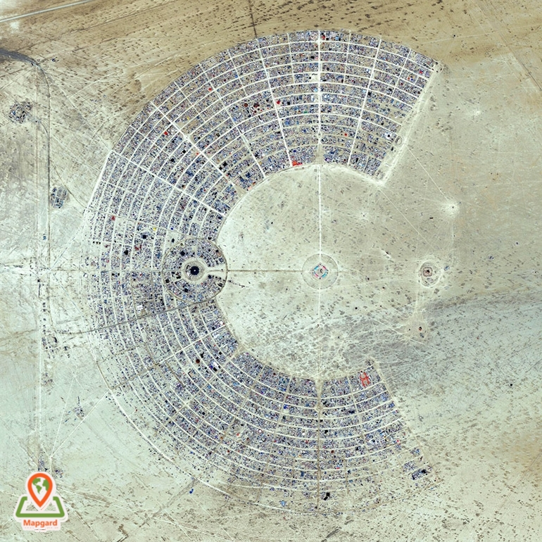 مرد سوزان (Burning Man) امریکا