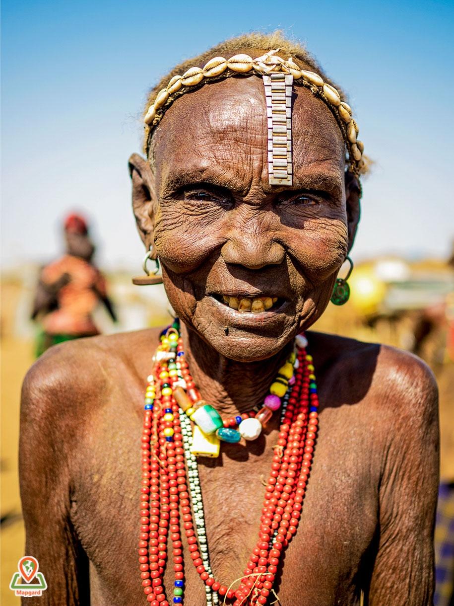 زنی از قبیله داسانچ (Dassanech Tribe)4