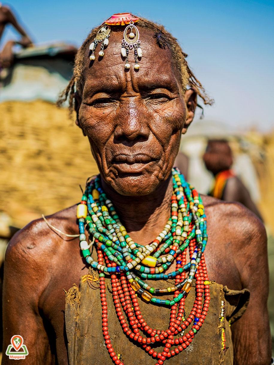 8) زنی از قبیله داسانچ (Dassanech Tribe)