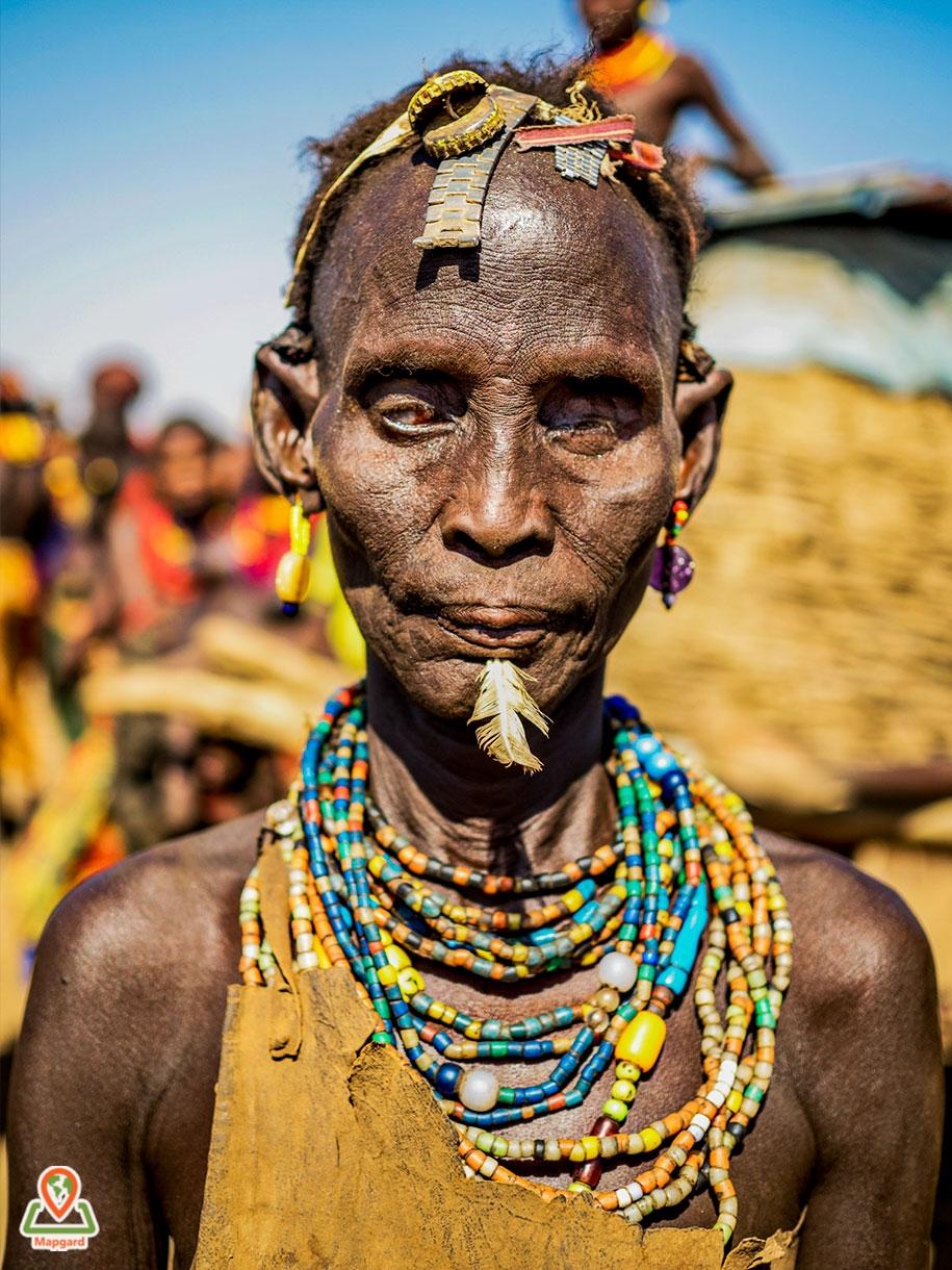 زنی کور از قبیله داسانچ (Dassanech Tribe)