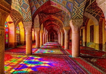 مسجد نصیرالملک (مسجد صورتی) | زیباترین مسجد ایران
