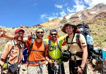 گزارش صعود به قله دماوند از جبهه جنوبی (روز دوم)