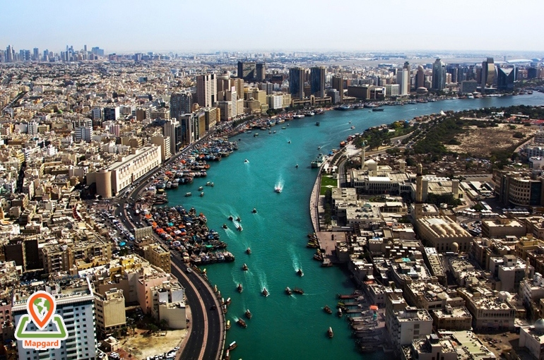 خور دبی (Dubai Creek)