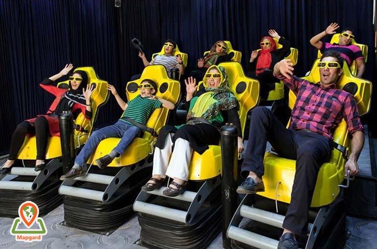 قیمت بلیط سینما برج میلاد