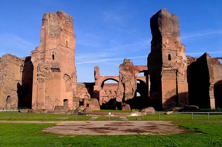 21) حمام کاراکالا (Baths of Caracalla)
