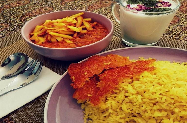 شکر پلو شیرازی