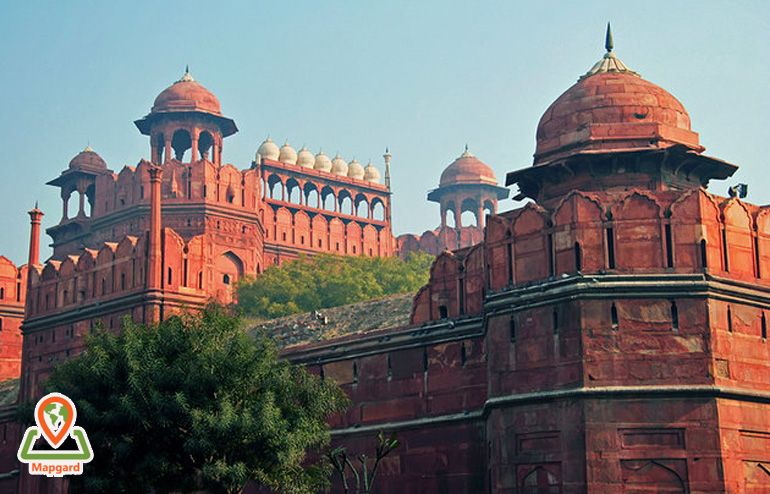 قلعه سرخ (The Red Fort)، دهلی نو (New Delhi)
