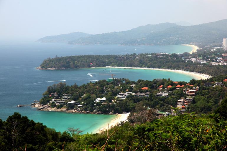 منظره سه ساحل (Three Beaches View)