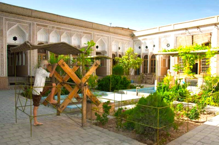 موزه آب یزد