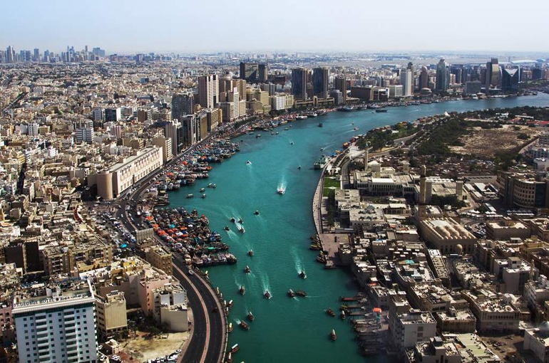 نهر دبی (Dubai Creek)